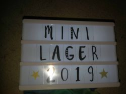 Mini-Lager Axams 2019