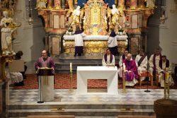 Besuch Bischof Hermann im Dekanat Axams