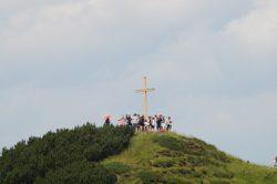 Bergmesse mit Gipfelkreuzeinweihung Jungbauernkreuz