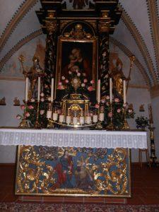 Theresienkirche innen
