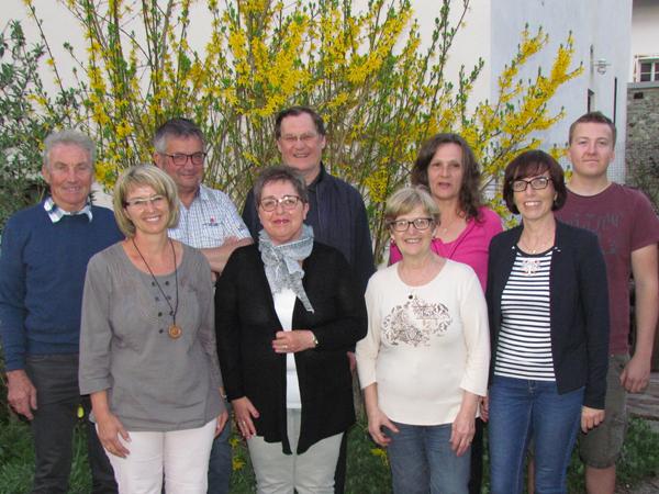 Neuer Vorstand Vinzenzverein Axams 2018