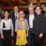 Alter und neuer Vorstand Kirchenchor Götzens