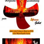 Plakat Taizé-Gebet